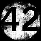 Circle 42 - Dark Background by EplusC Studio