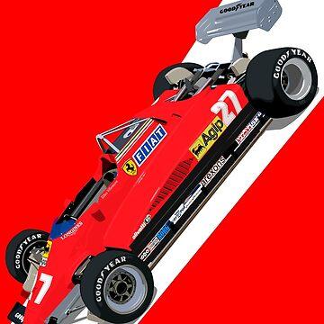 Scuderia 126C2 Gilles Villeneuve by ICRDesigns