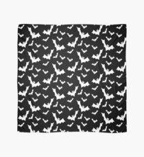Pastel Goth Vampire Bats (Black / White) Scarf