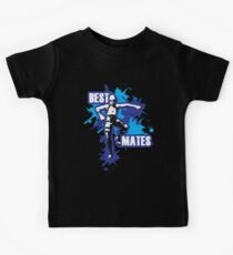 Gaming - Best Mates Dance Move - Blue Kids Tee