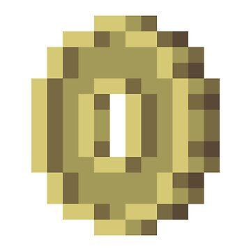 Pixel Art Coin by Stridden