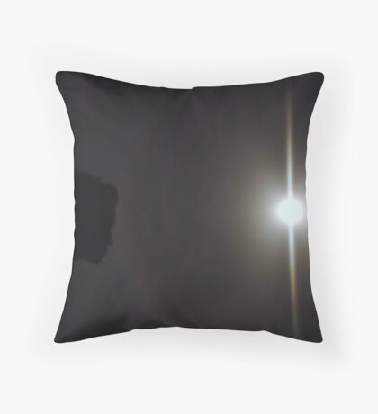 Kissing a Moonbow, Please Enlarge! Throw Pillow