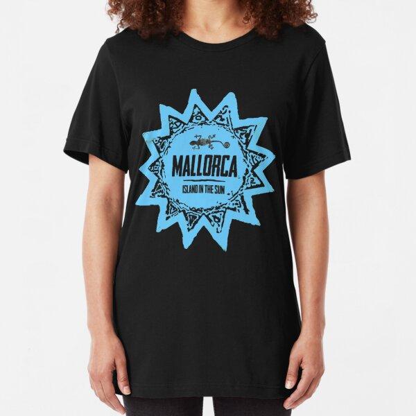 Mallorca Blue Slim Fit T-Shirt