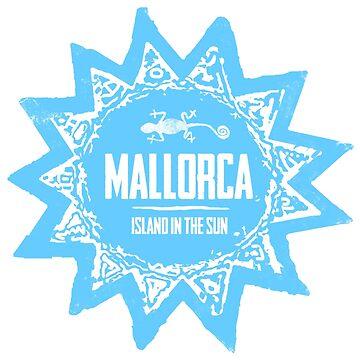 Mallorca Blue von Periartwork