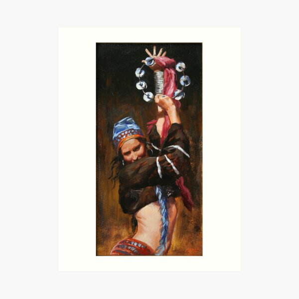 Gypsy Woman Art Print