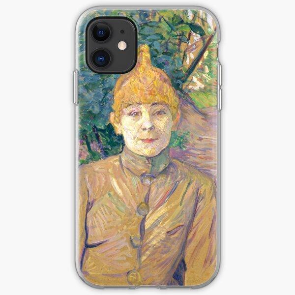 """Henri de Toulouse-Lautrec """"The Streetwalker (Also Known As Casque D'Or)"""" iPhone Soft Case"""
