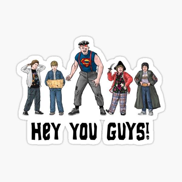 Hey You Guys! 1985 Sticker