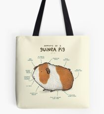 Anatomy of a Guinea Pig Tote Bag