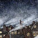 Lonely little superhero by Embla Granqvist