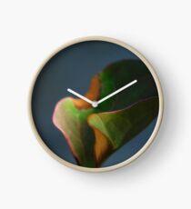 flower & leaf Clock