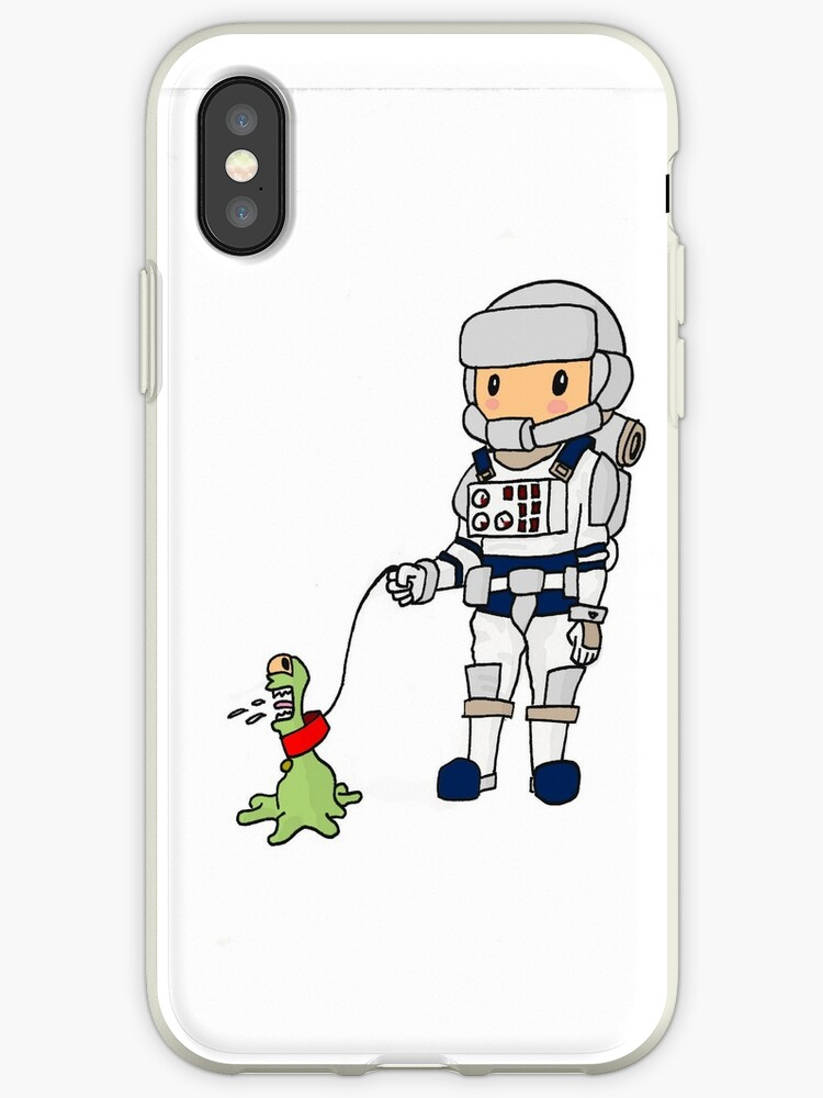 The Astronaut and his Pet by gabe-o-matic