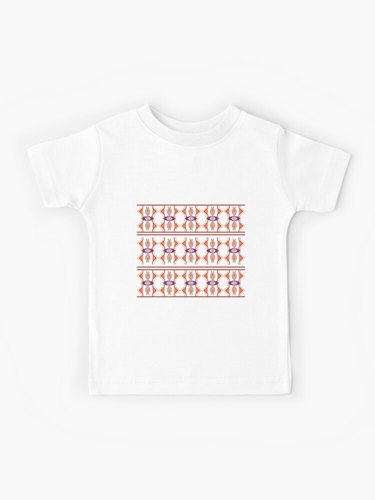 Red Native American Pattern All Over Toddler T Shirt