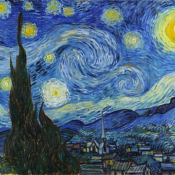 Vincent van Gogh — The Starry Night by boxsmash