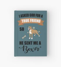 Boxer Mom & Dad Gifts Hardcover Journal