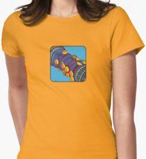ALLE ENTLANG DEM BT-TURM [AKA-POSTTURMTURM GEHT!] Tailliertes T-Shirt