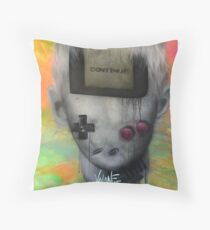 Gameboy Throw Pillow