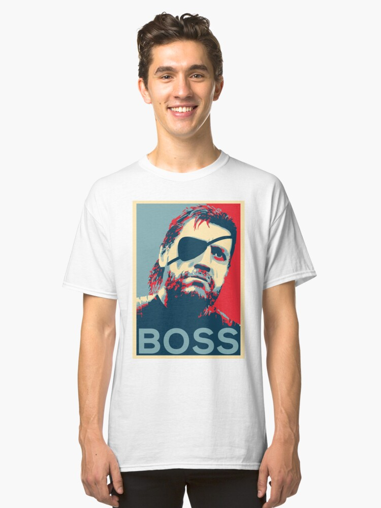 Big Boss - Yes We Can 'BOSS' Classic T-Shirt Front