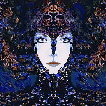 Blue Goddess by NatsArt