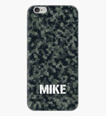 Camouflage Personalized For Mike iPhone Case
