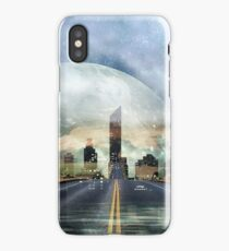Fata Morgana - Fantasy Road City - Science Fiction, Space iPhone Case