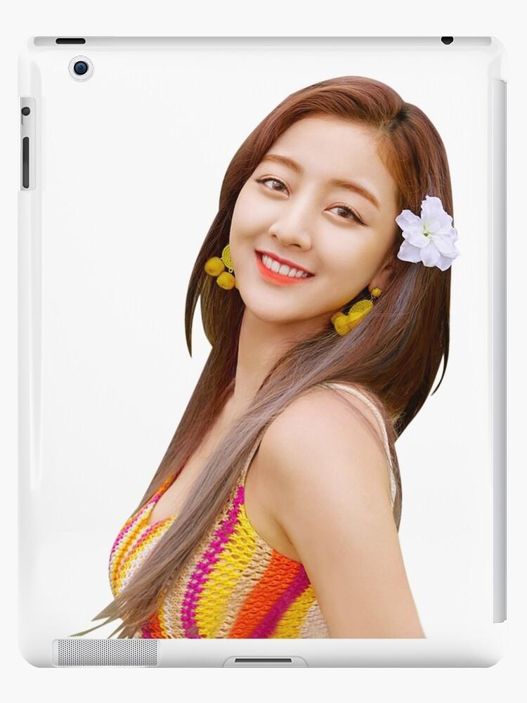 Twice Jihyo Cute Dance Die Nacht Entfernt Aufkleber Ipad Hulle