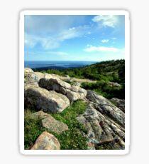 Cadillac Mountain, Acadia National Park, Mt. Desert Island, Maine Sticker