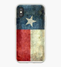 """The """"Lone Star Flag"""" of The Lone State Texas iPhone Case"""