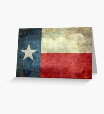 "The ""Lone Star Flag"" of The Lone State Texas Greeting Card"
