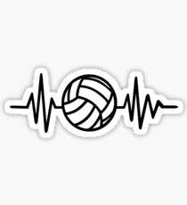 Volleyball frequency Sticker