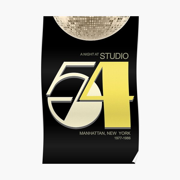 Studio 54 - Night Club Poster