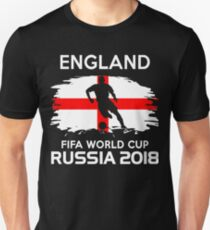 England Team World Cup 2018 Unisex T-Shirt