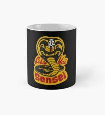 Cobra Kai Sensei - Vintage Retro Distressed Stil Tasse (Standard)