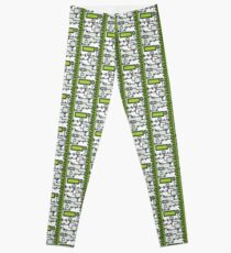 Metal Lab - Ghost Gear Green v2.1 - Danny Phantom Leggings