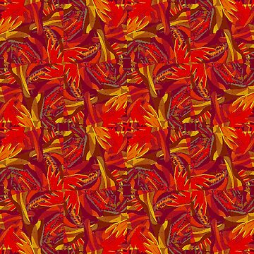 Colorful Abstract Ethnic Style Pattern by DFLCreative