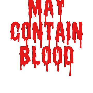May Contain Blood funny vampire cup design by Noto57