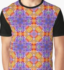 colorful color blob artwork seamless repeat pattern Graphic T-Shirt