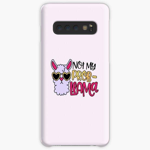 Not My Prob-Llama Cute llama Samsung Galaxy Snap Case