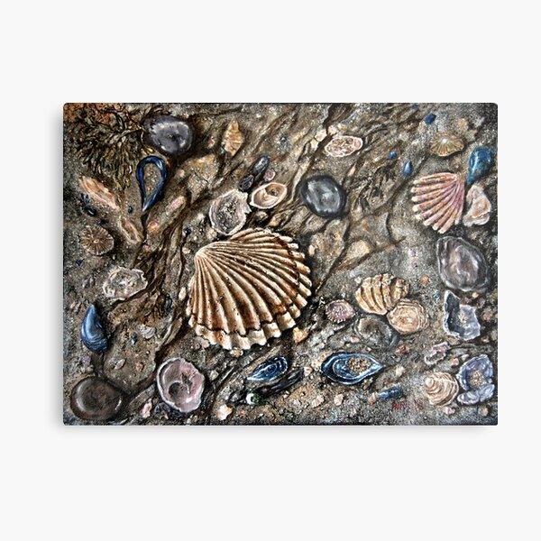 """""""Sea Shore"""" - oil painting Metal Print"""