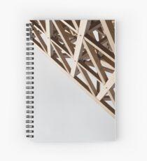 Wooden estructure Spiral Notebook