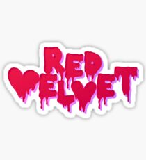Pegatina Terciopelo rojo