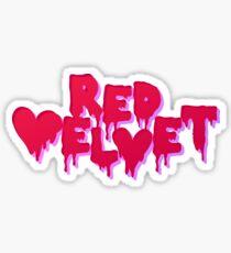 Red Velvet Sticker