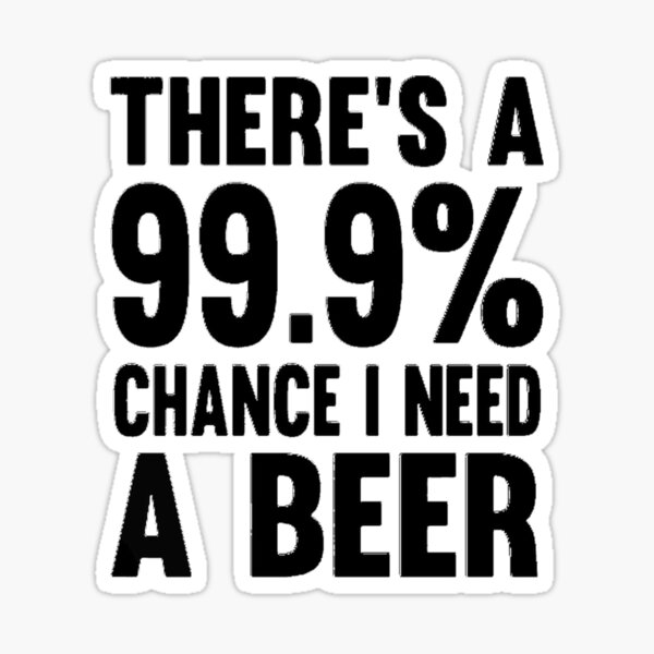 Beer Lover Sticker