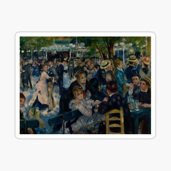 Auguste Renoir - Bal du moulin de la Galette - Extra High Resolution Sticker