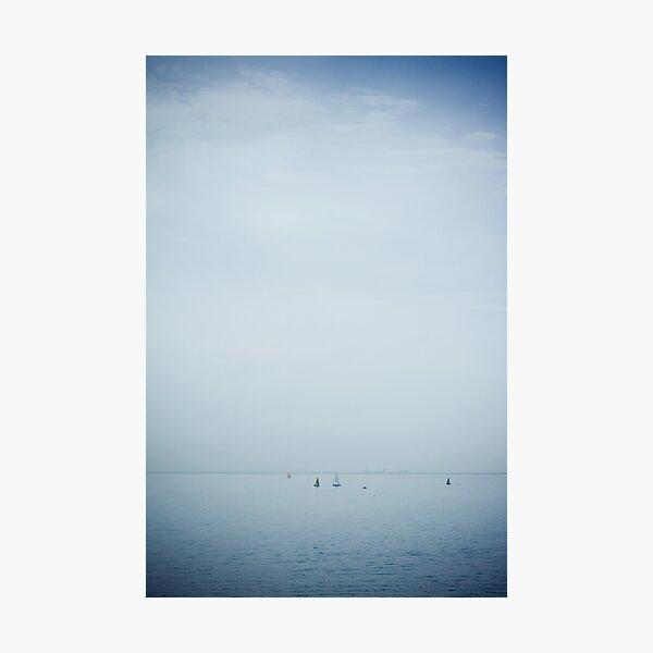 rye sky Photographic Print