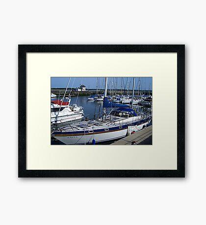 Caernarfon Harbour - North Wales Framed Print