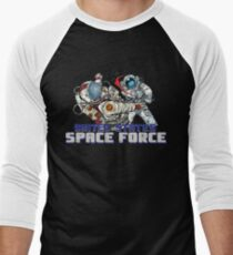 69dfc0640 United States Space Force Baseball ¾ Sleeve T-Shirt