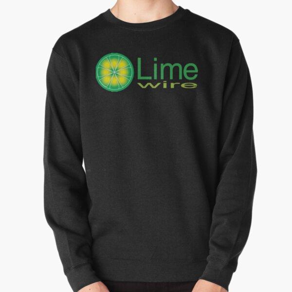 Limewire Music Retro 90s and 2000s P2P Logo Pullover Sweatshirt