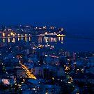 Kavala by night. by Kostas Pavlis