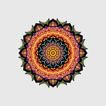 Original Hand-drawn Mandala by baddawge