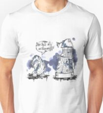 Are you my mummy? watercolor version Unisex T-Shirt